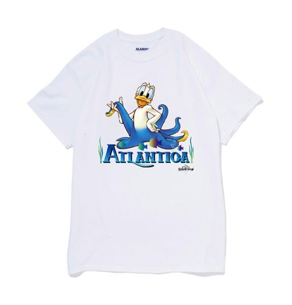 XLARGE®沖縄店 Disney キングダムハーツ アトランティカ ドナルド ホワイト 表