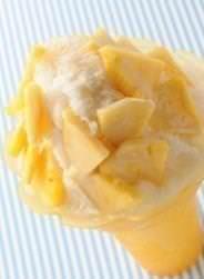 スイーツフォレスト 台湾かき氷 パイナップル