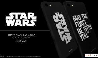 ユニケース STAR WARS / MATTE BLACK HARD CASE for iPhone7