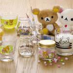 石塚硝子「リラックマ・すみっコぐらし グラス&ガラス容器」