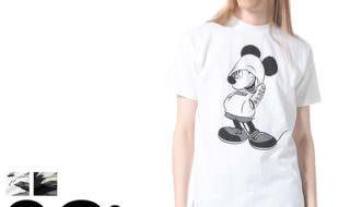 サカゼン ディズニーデザイン「Disney Tシャツ」ミッキーマウス ホワイト1