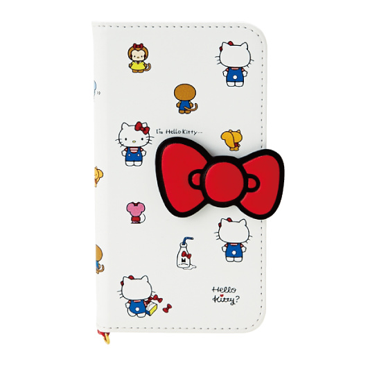 I'm Hello Kitty 2つ折りiPhone7ケース