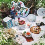 おしゃれな『ふしぎの国のアリス』デザイン!Afternoon Tea(アフタヌーンティー) LIVING「DISNEY Collection Alice's Curious Garden」