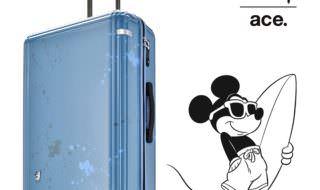 サーフィンミッキースーツケース イメージ
