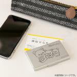 名刺ケース(リラックマ・リラックマといっしょ)シルバー 使用イメージ
