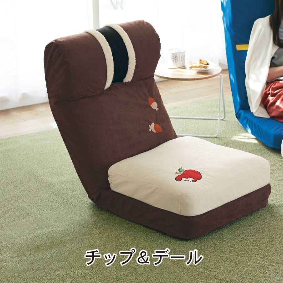 クッション付き座椅子 イメージ