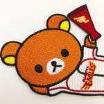 OSM International「プロ野球12球団×リラックマコラボ ワッペン」