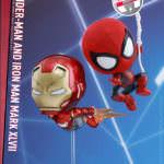 ホットトイズ スパイダーマン(ウェブ・スウィング版)&アイアンマン・マーク47(飛行版)<2体セット>01