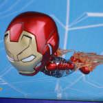 ホットトイズ スパイダーマン(ウェブ・スウィング版)&アイアンマン・マーク47(飛行版)<2体セット>05