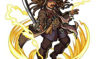 パイレーツ・オブ・カリビアン/最後の海賊 モンストコラボ ジャック・スパロウ