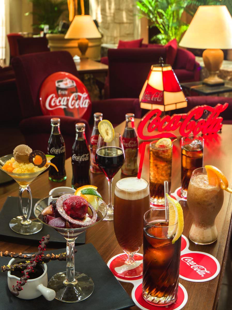オリエンタルホテル 東京ベイ「Coca-Cola Bar」(コカ・コーラバー)