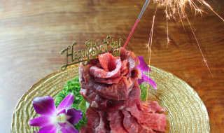 焼肉トラジ ハレの日は肉ケーキでお祝いを!(イメージ)