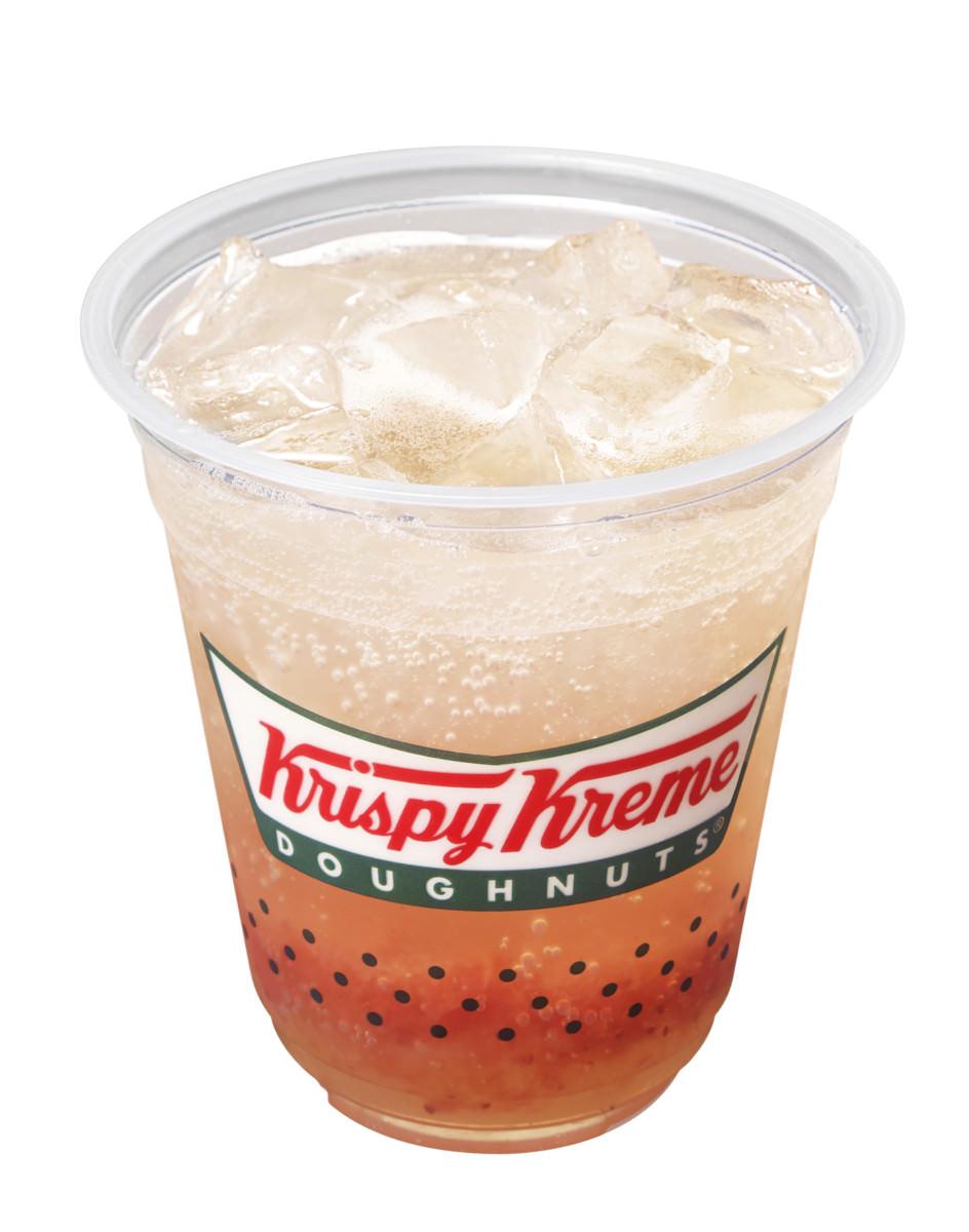 クリスピークリームドーナツ jerry in soda strawberry lemonade