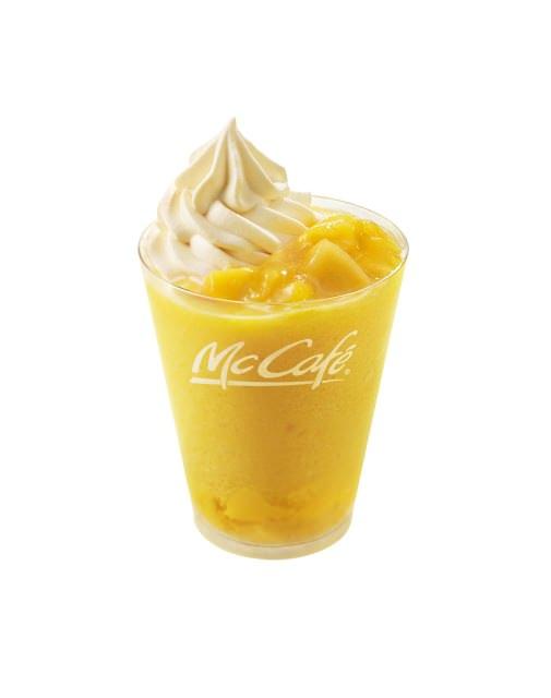 McCafe by Barista とろっとプリンマンゴースムージー