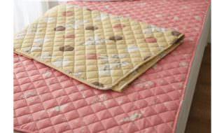 綿混敷きパッド