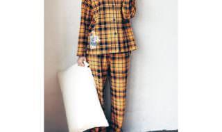ふんわり接結長袖パジャマ
