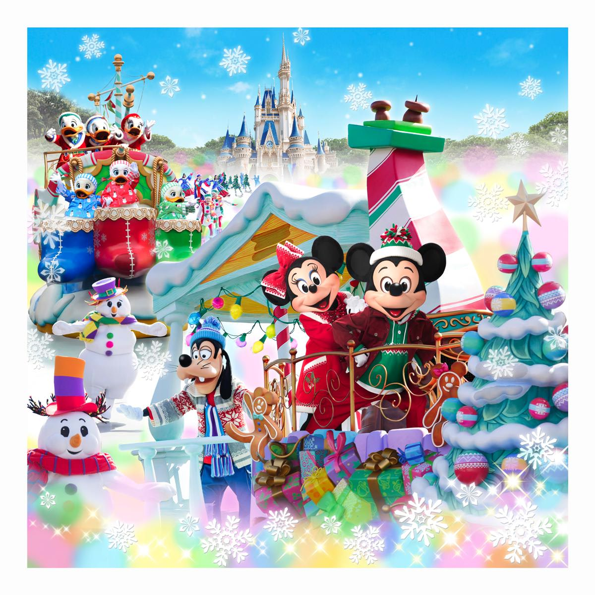 jalが協賛!東京ディズニーランド®のクリスマスパレード「ディズニー