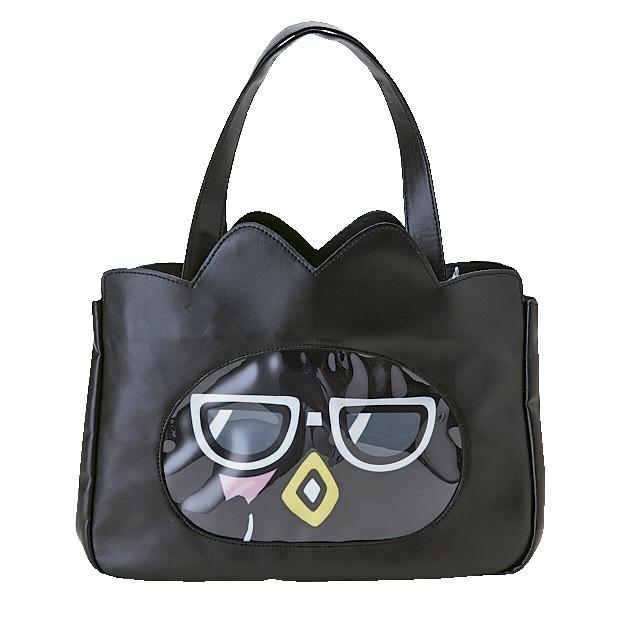 サンリオ バッドばつ丸 変装デザイン ポーチ付き手提げバッグ1