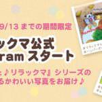リラックマ公式Instagram「いつでもいっしょ♪リラックマシリーズ編」