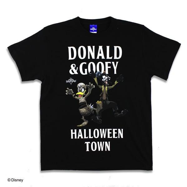 Disney キングダムハーツ Tシャツ ブラック