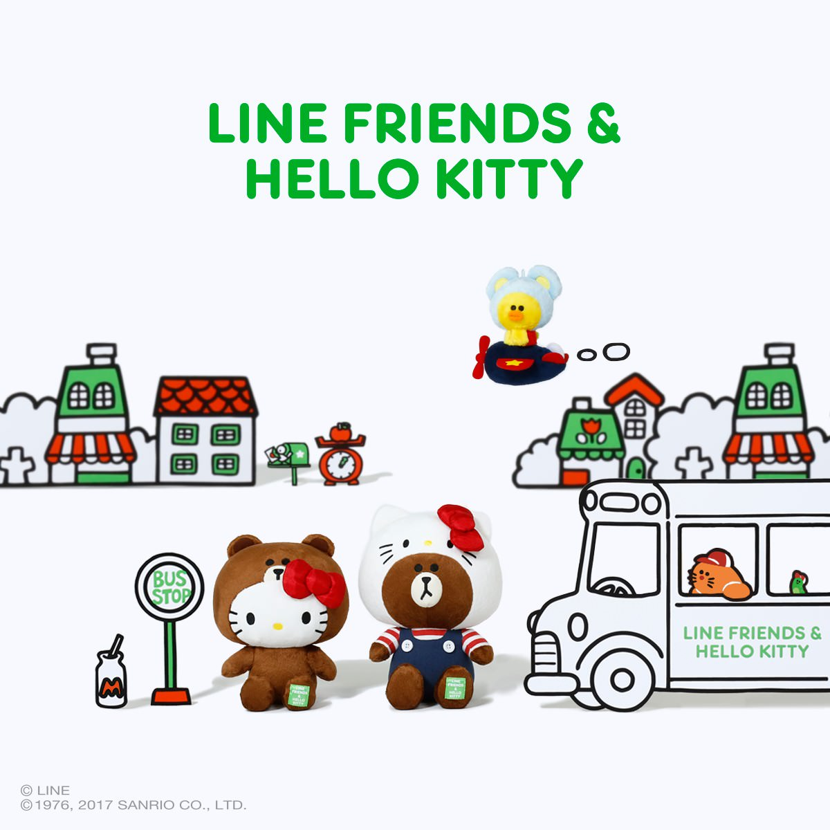 LINE FRIENDS & HELLO KITTY メイン