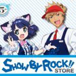 サンリオ SHOW BY ROCK!! STORE ビジュアル