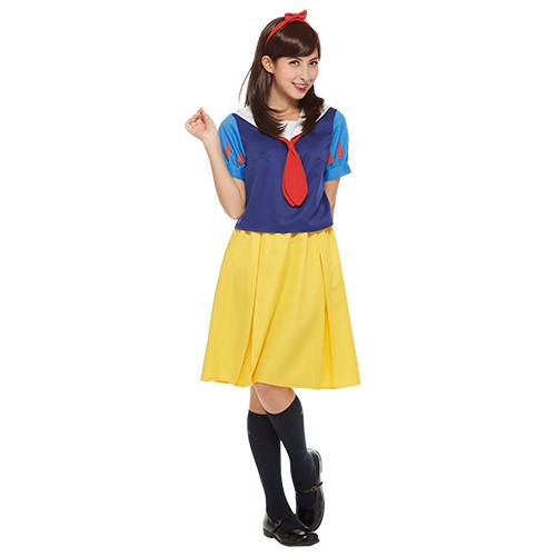 ディズニー スクールユニフォーム 白雪姫 フロント