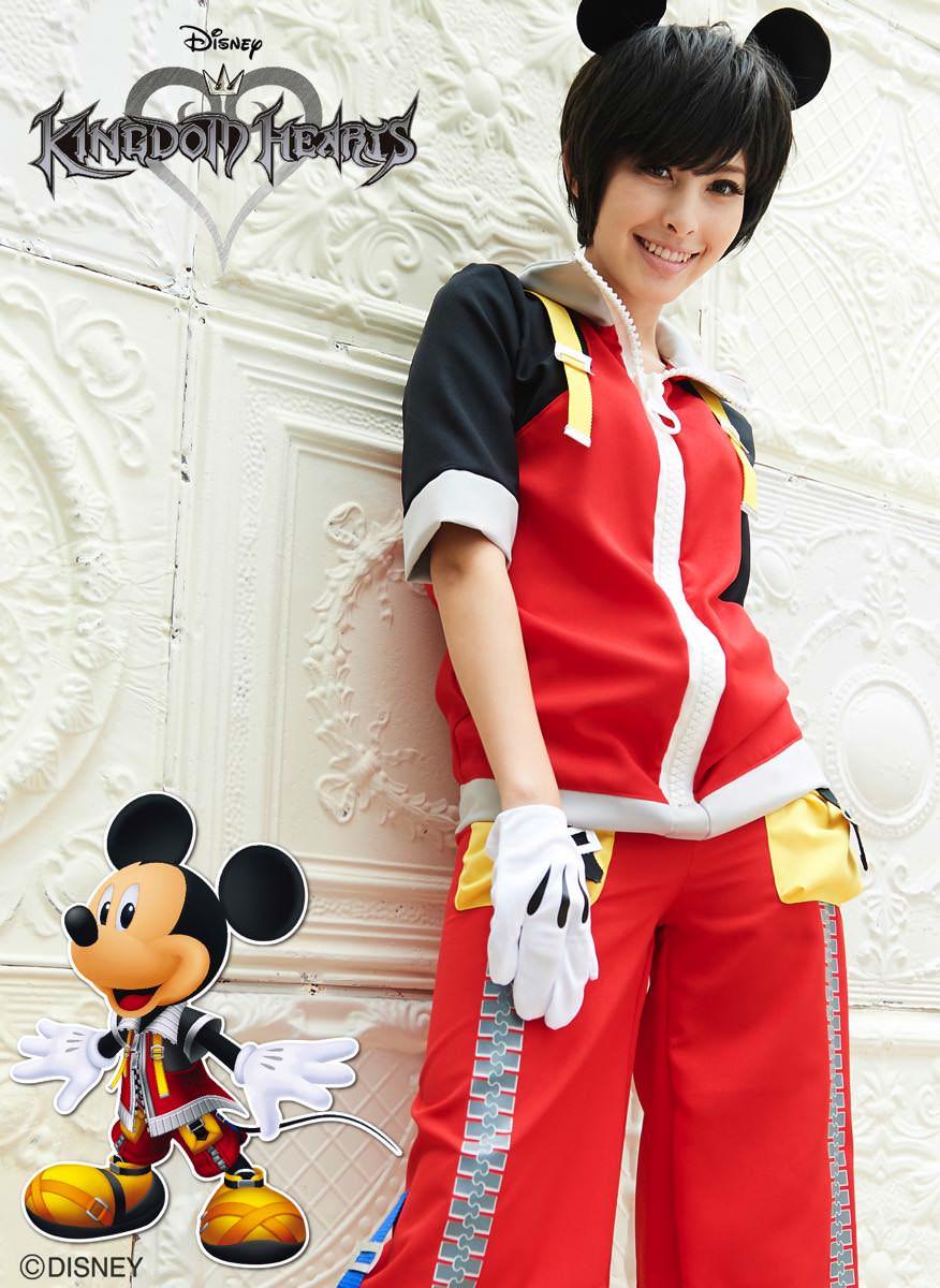 ディズニーキャラクター仮装コスチューム「キングダムハーツ」キングミッキー イメージ