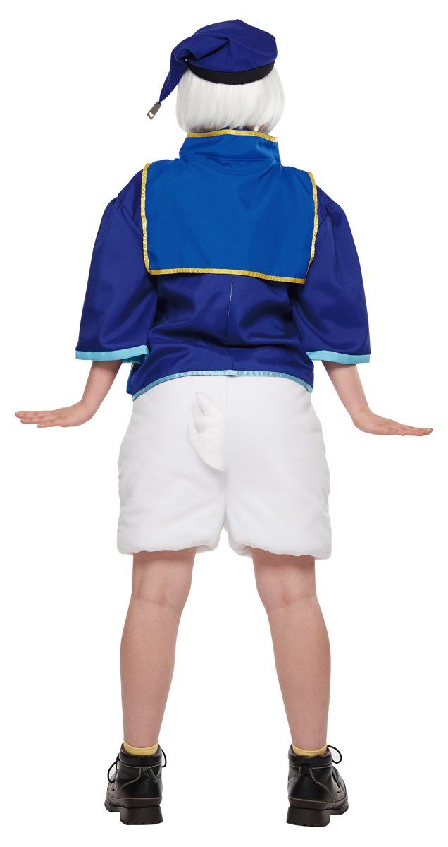 ディズニーキャラクター仮装コスチューム「キングダムハーツ」女性用ドナルドダック キングダムハーツ バック