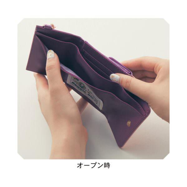 三つ折りコンパクト財布 オープン時1