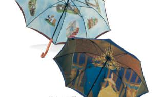 日本製二重張り雨傘
