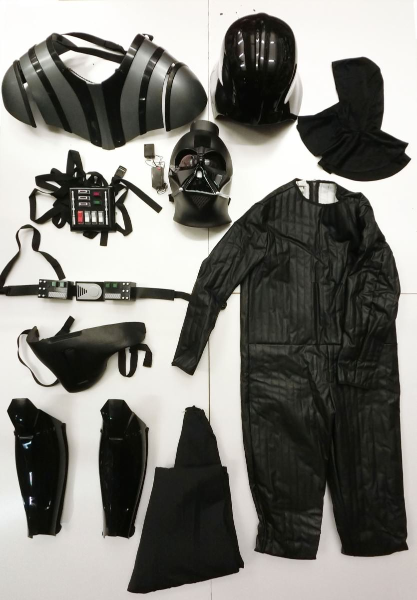 SUPREME EDITION DARTHVADER™ COSTUME 付属品