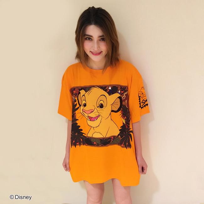 Disney/BIGTシャツシリーズ シンバ フロント
