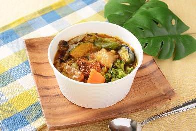 野菜たっぷりスープカレー ローソン