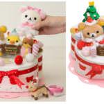 リラックマクリスマスパーティーケーキセット メイン