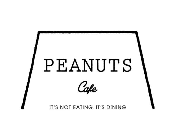 Peanuts cafeロゴ