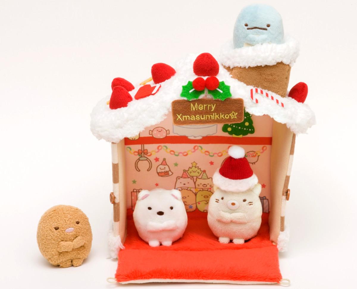 リラックマクリスマスパーティーケーキセット おうち×すみっこ