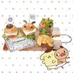 パンパカパンツ×ポムポムプリン祭りin静岡PARCO プチバーガーセット