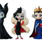 Disney Characters Q posket petit-Villains-
