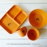 ファーゼン リサとガスパール キッチンアイテム マットオレンジ