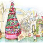 フォトジェニックな巨大クリスマスツリーが登場