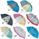 桜骨のカラフルビニール傘