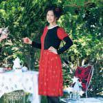 サイズが選べるなりきりプリンセス風ワンピース ハートの女王 着用イメージ