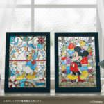 ステンドグラス風ぬり絵手作りキット(ディズニーシリーズ)・彩葉