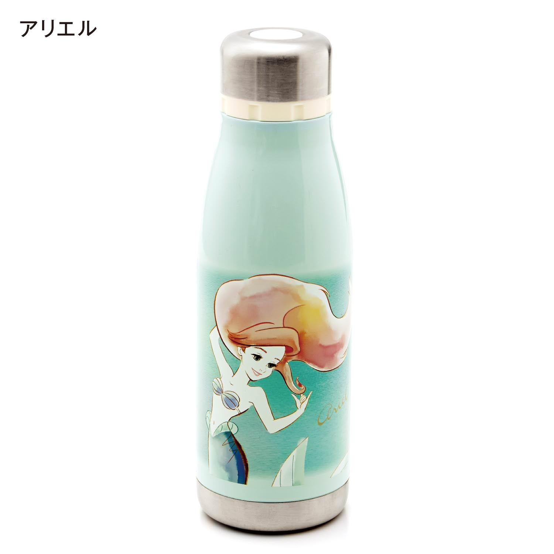 水彩風デザインの軽量コンパクトステンレスボトル アリエル