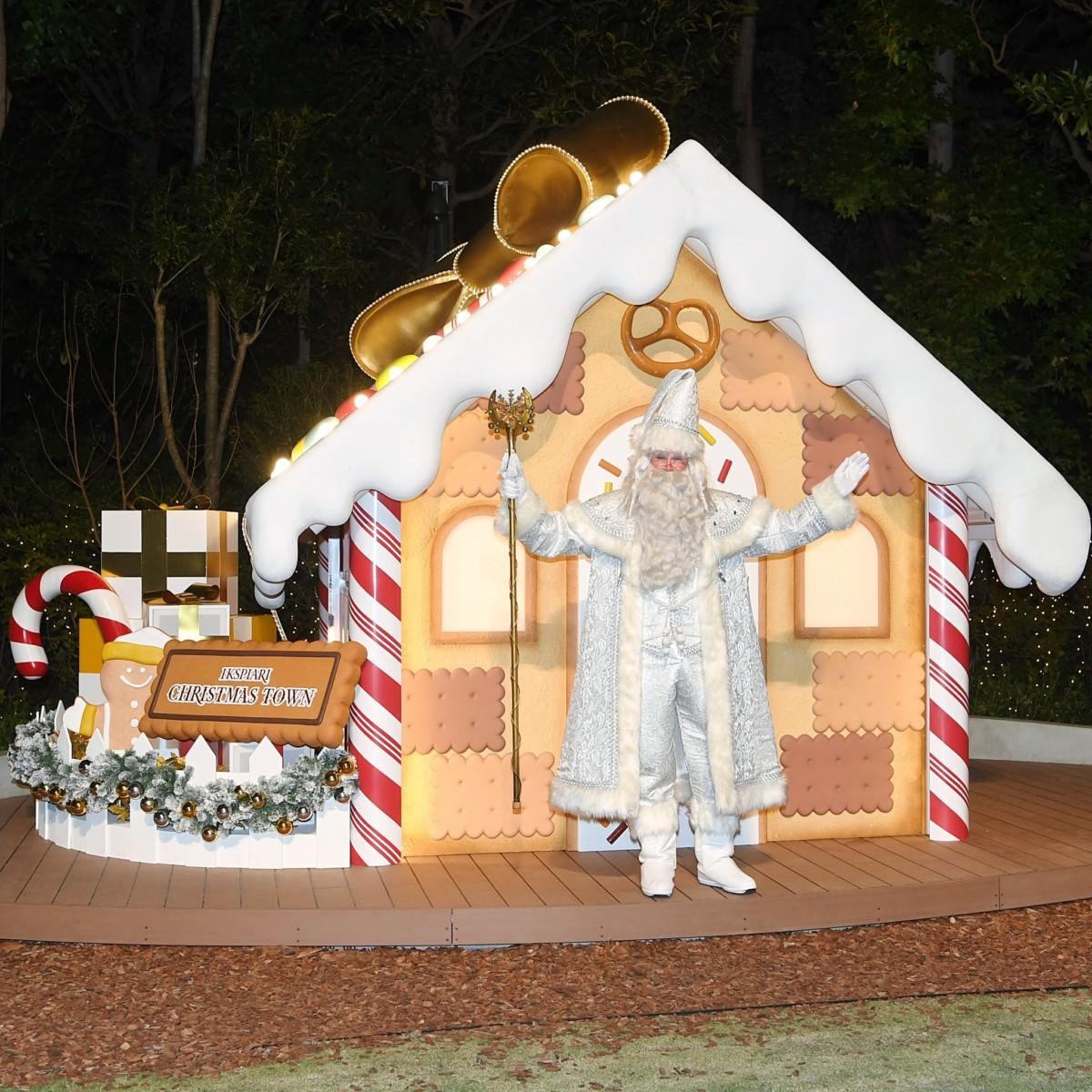 お菓子の家 イルミネーション点灯式4