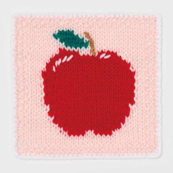 ツムツムのニット&クロシェ りんご