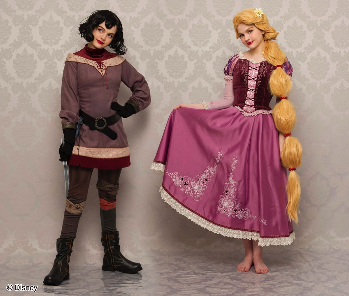 E Wind in my hair dress Tangled the Series Rapunzel ver