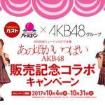 ガスト・バーミヤン「AKB48ミュージックビデオ集『あの頃がいっぱい』発売記念コラボキャンペーン」