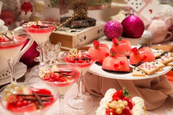 アリスのクリスマスブッフェ 内容